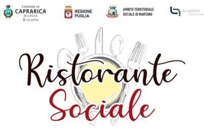 Ristorante Sociale, a Caprarica di Lecce il ristorante a portata di tutti